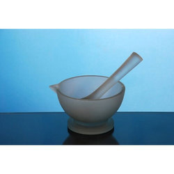 Borosilicate Glass Pestle And Mortar
