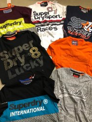 Superdry Mens Crew Neck Tshirts