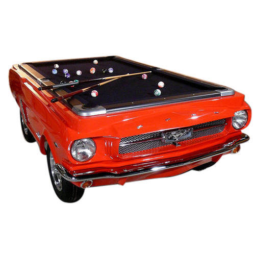 Make My Wheels Metal Mustang Pool Table Rs Piece Annapurna - Mustang pool table