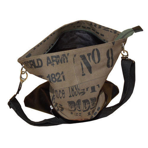 481dab1c4c9b Spice Art Brown Ladies Canvas Handbags