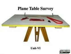 Plane Table with accessories