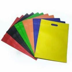 Biodegradable Plain Non Woven D Cut Carry Bag, For Grocery, Capacity: 2 Kg