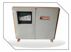 Three Phase Automatic Servo Stabilizer - 3 Phase, Air Cooled, For Industrial, Without Surge Protection