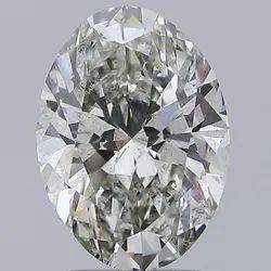 Oval Cut 3.00ct Lab Grown Diamond CVD J SI1 IGI Certified Type2A