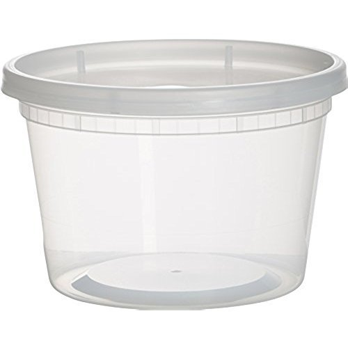Round Plastic Food Packaging Box at Rs 7 piece Plastic Food Box