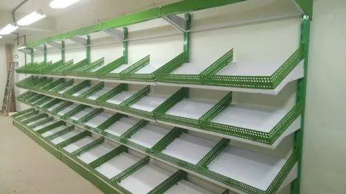 supermarket vegetable rack