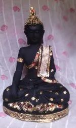 Resin Black Baby Monk, For Interior, Packaging Type: Tharmacol