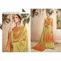 Ladies Casual Wear Palazzo Cotton Suit
