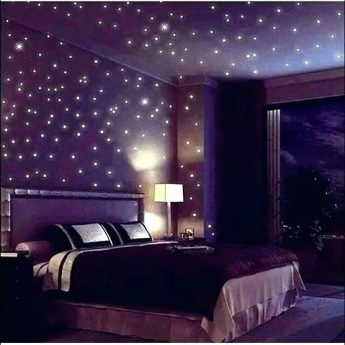 Armstrong Coated Bed Room LED, Thickness: 10 mm