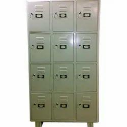 Iron Coin Lock Industrial Storage Locker, 12
