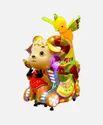 Kiddie Amusement Ride Game - Sheep & Parrot