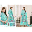 Cotton Casual Wear Printed Long Suit, Size: M To Xl