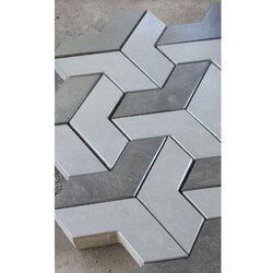 V Shape Pavers Moulds