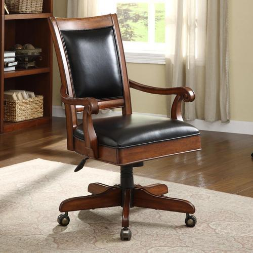 Sensational Wooden Leather Office Chair Interior Design Ideas Inesswwsoteloinfo