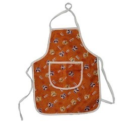 Printed Cotton School Apron