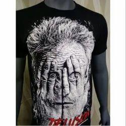 Cotton Printed Men's Casual T Shirt