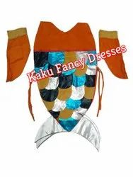 Kids Mermaid Fish Costume