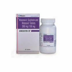 Anzavir-r Atazanavir Sulphate And Ritonavir Tablets