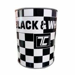 Matt Black And White Paint, Packaging Type: Tin