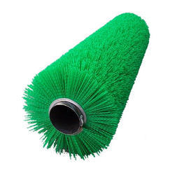 White Cylindrical Road Sweeper Brushes, For Cleaning, Rs 1850 /piece | ID:  8337759248