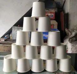 Plain White Paper Glass 150 ml