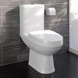 White Ceramic One Piece Toilet