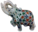 Handmade Beautiful Marble Inlay Elephant