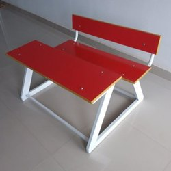 Red Play School Desk