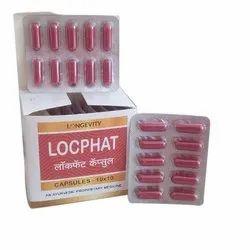 Longevity Locphat Capsules, Prescription