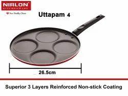 4 Cavity Nirlon Non Stick Uthappam Pan