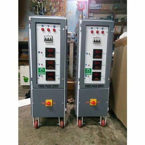 Three Phase Automatic Servo Voltage Stabilizer