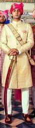 Raw Silk Wedding Achakan