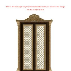 Modern Pooja Room door Accessories