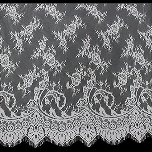 8952a70aec White Eyelash Nylon Fabric