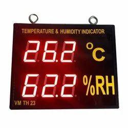 Digital Temperature and Humidity Indicator