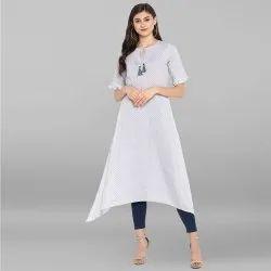 Designer Printed Cotton Kurtis