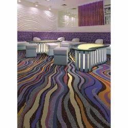 Multicolor Printed Non Woven Carpet