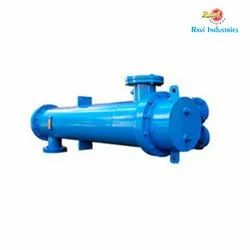 Ss,Ms Copper Tube Heat Exchanger, For Hydraulic and Industrial Process, 30' C