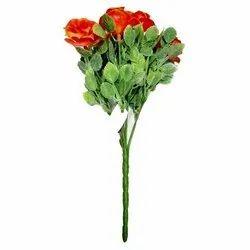 Artificial Plastic Decorative Flower Bunch