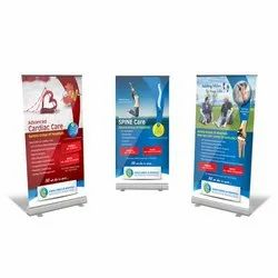 6' x 3' Roll Up Standee