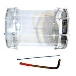Musical Transparent Lighting Bhangra Dhol