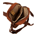 Brown Canvas Sling Bag