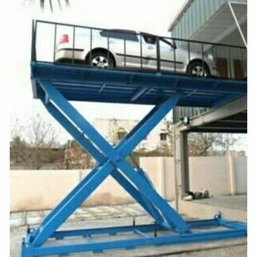 Car Scissor Lift Table Size 12 X 7 Feet Id 15517622548