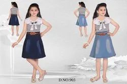 Kids Fancy Skirt And Top