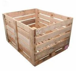Box Pallets for Industrial, Capacity: 200 + Kg