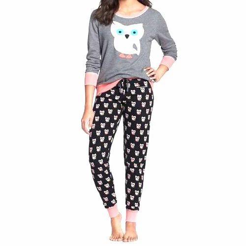 4ae834b3e9 Cotton Girls Trendy Night Suit, Size: XL, Rs 200 /piece, Karan Fab ...