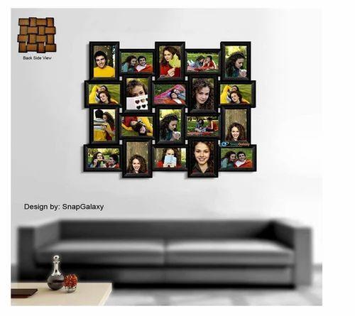Snapgalaxy Twenty Photo Collage Frame Black Landscape At Rs 4582 00 Piece Decorative Photo Frame Id 16435713412