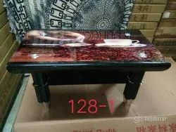 Center Table In Glass