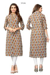 Fancy Slab Cotton Kurti