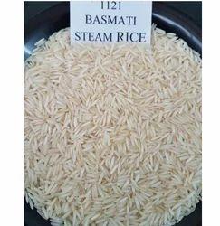 20 kg Basmati Steam Rice 1121, Packaging: Jute Bag